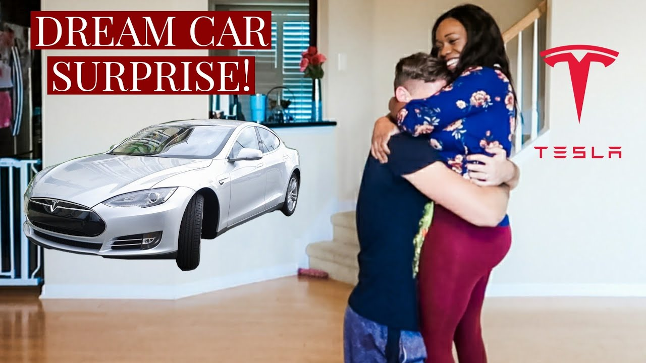 SURPRISING MY HUSBAND WITH HIS DREAM CAR!!! *he cries*