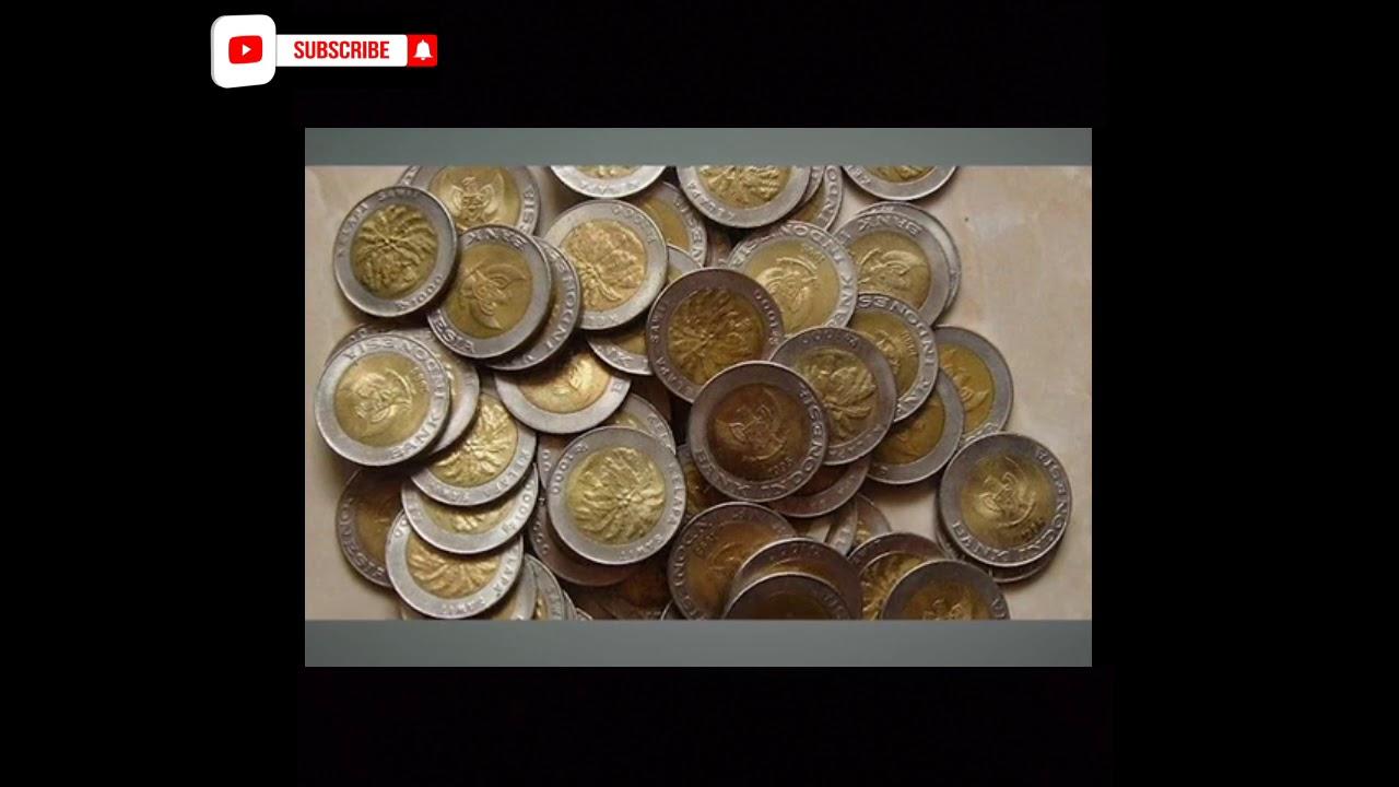 Viral !! Uang Koin Kelapa Sawit 1.000 Rupiah Dijual Hingga Ratusan Juta