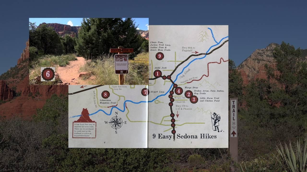 Nine Easy Hikes Sedona AZ Sedona Az Hiking Map on sedona hiking map pdf, cave creek az hiking maps, pine az hiking maps, sedona arizona map, sedona jeep trails map, sedona arizona hiking,