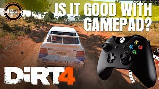 DiRT 4 Gameplay PC – Is It Good with Gamepad?