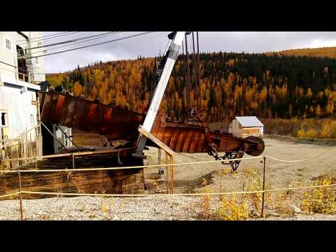 Gold Dredge #4 Bonanza Creek, Dawson, Yukon Part 2
