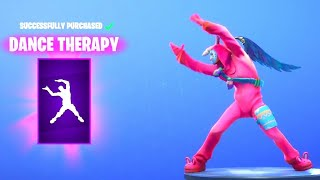 Fortnite: *NEW* DANCE THERAPY EMOTE/DANCE! - WUKONG Skin Is BACK (Fortnite Daily Item Shop)
