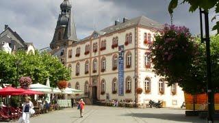 Sankt Wendel (Saarland, Germany) Stadtrundgang
