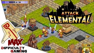 Attack of the Elemental 100% Walkthrough 30/30 STARS Levels 1 - 10 Part 1/2