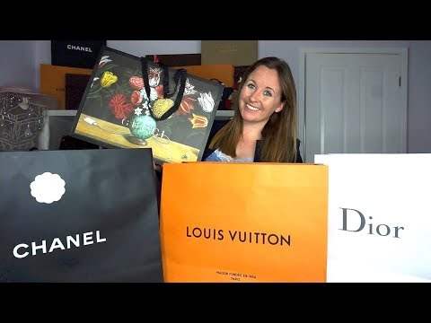Ridiculous Handbag Haul- Chanel Dior Gucci Louis Vuitton