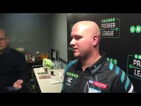 📽️ | Rob Cross after his 7-4 victory over Peter Wright