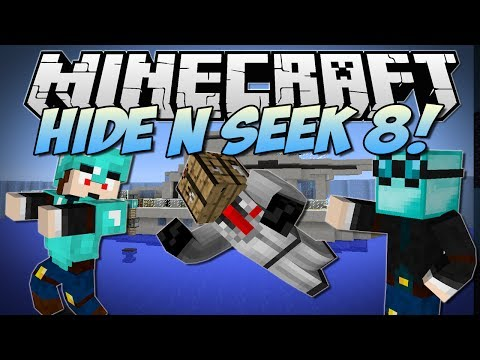Dantdm minecraft goofy pumpkin hide n seek miniga for Hide n seek living room edition