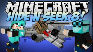 Minecraft | HIDE N SEEK 8! (BRAND NEW Maps & Blocks!) | Minigame