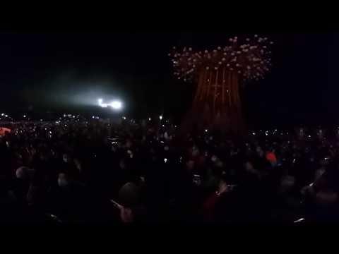 2020台灣燈會 璀璨台中  森生守護  光之樹 360 度全景實況109-2-8 施亮州 攝影