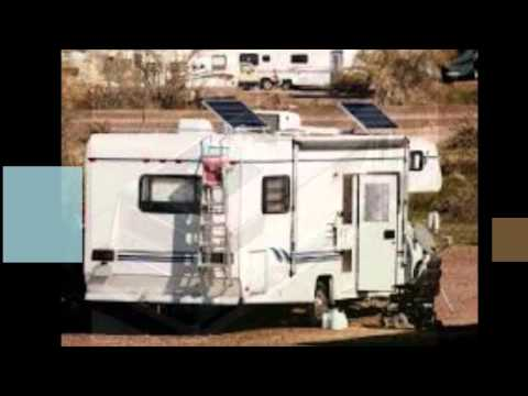 Solar Powered Recreational Vehicle And MotorHome Battery Chargers