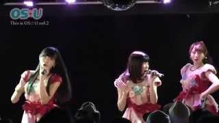 2015年5月5日開催。OS☆U定期公演「This is OS☆U vol.2」