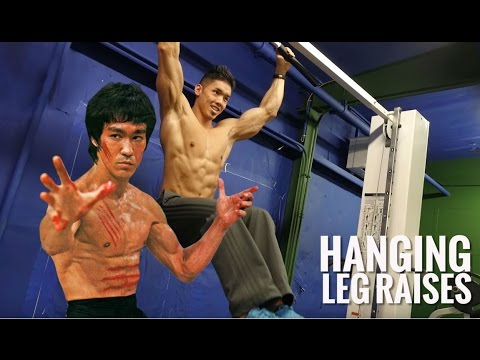 Bruce Lee's Ab Workout for a Ripped Six Pack