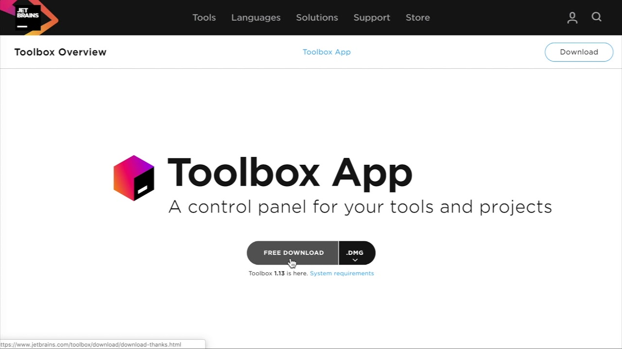 Jetbrains Toolbox Download