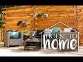 Backyard Makeover & DIY Horizontal Slat Fence with Lowe's! | House to Home Episode 6