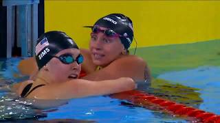 U.S. Wins Gold, Bronze, Sets Parapan Record in S9 100m Butterfly | Parapan American Games Lima 2019