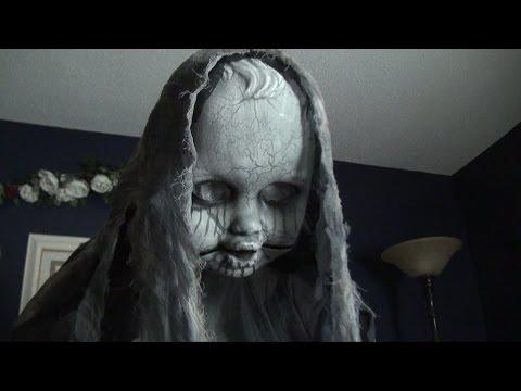 Creepy Rising Animatronic Doll - Spirit Halloween