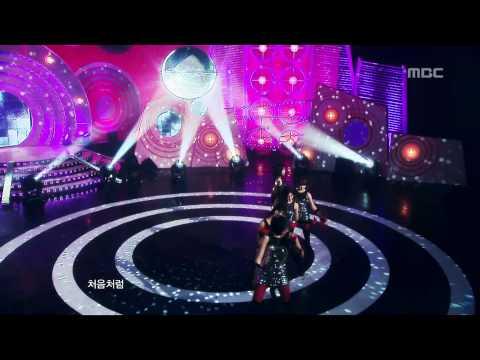 T-ARA - Like The First Time, 티아라 - 처음처럼, Music Core 20100116