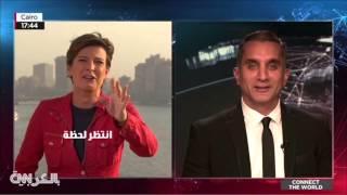 باسم يوسف يسيطر على شاشة CNN