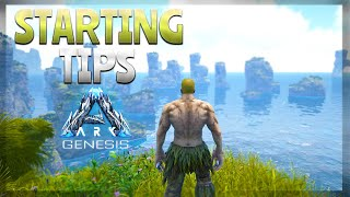STARTING TIPS (Ark: Genesis DLC)