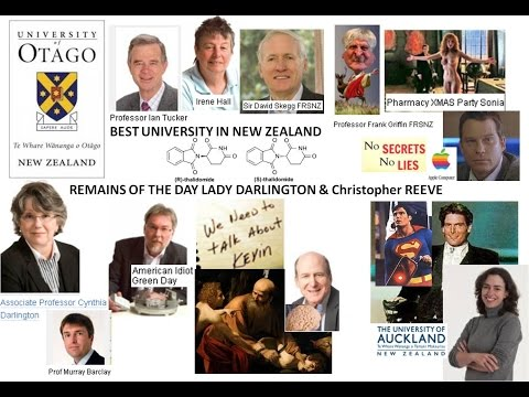 God Defend NZ from the EMPIRE that Floods under HRH's rain OTAGO Uni UK inc