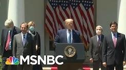 Trump Announces Team To Lead COVID-19 Vaccine Effort | MSNBC