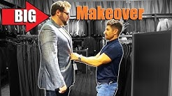 BIG Matt Gets A Makeover | Style & Shopping Tips for BIGGER Dudes