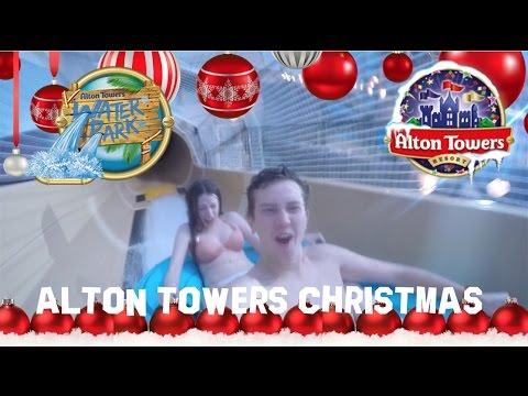 CHRISTMAS AT A WATERPARK  | VLOG