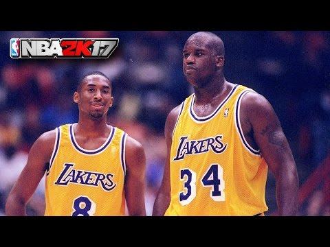 NBA 2K17 Shaq Vs Kobe Feud - Shaq Explains What Really Happened Gameplay(NBA 2K17 SHAQ LEGEND COVER)