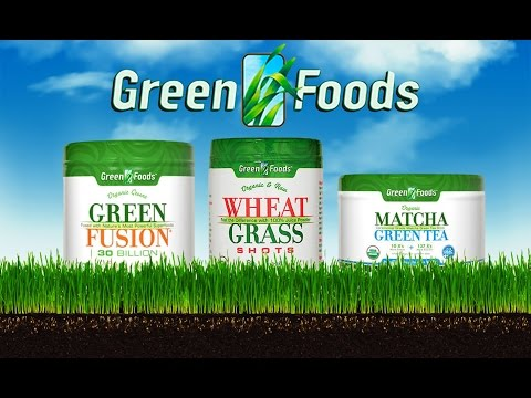 Green Foods Provides Natural, Whole Food Nutritional Supplements