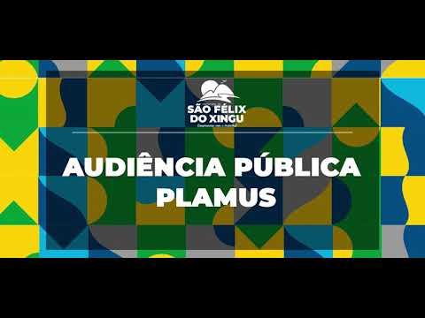 Audiência pública discutirá o Plano de Mobilidade Urbana Sustentável de São Félix do Xingu.
