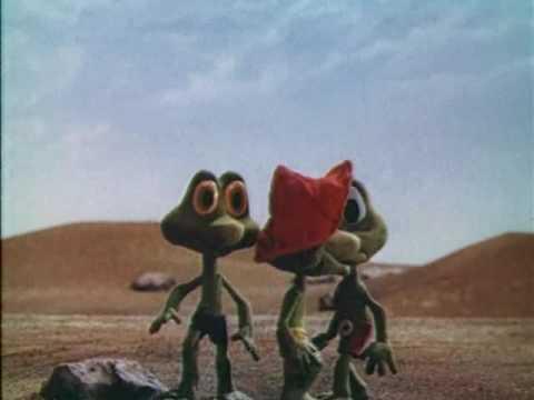 Три лягушонка мультфильм