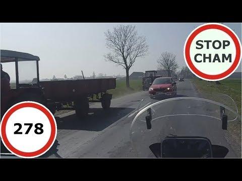 Stop Cham #278 - Niebezpieczne I Chamskie Sytuacje Na Drogach