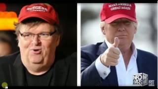 Breaking News! Michael Moore Tells Hillary Clinton F. U.!
