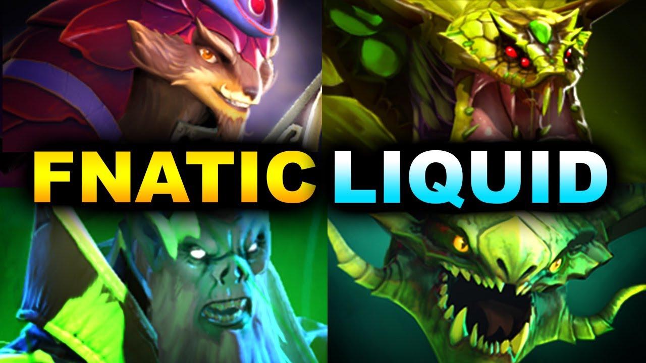 FNATIC vs LIQUID - VIRUS STRAT -  DOTA SUMMIT 12 DOTA 2