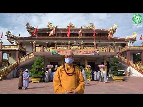 Đại lễ Phật đản Phật lịch 2565 - Dương lịch 2021 tổ chức tại chùa Đại Giác