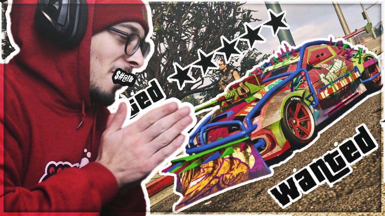 ARENA WAR -ის მანქანით 5 ვარსკვლავი | GTA 5