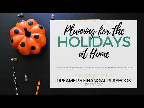 Planning for the Holidays at Home