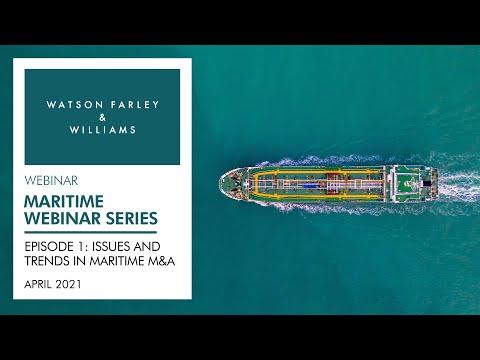 Maritime Webinar Series – Episode 1