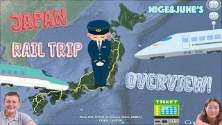 Japan Rail Trip Highlights