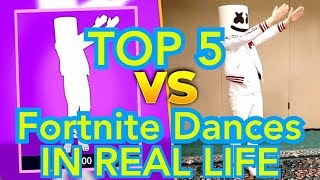 Top 5 Fortnite Dance Emotes (Saison 8)