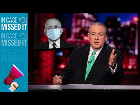 Dr. Fauci Awards Raccoon For Masking Up | ICYMI | Huckabee