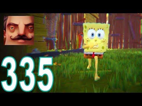 Hello Neighbor - My New Neighbor SpongeBob Act 2 Gameplay Walkthrough Part 335