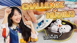 ซอฟรีวิว-จับแมวใส่หม้อ-challenge-【cat-pot-】