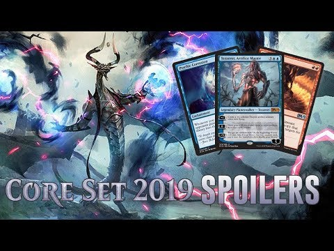 Daily Core Set 2019 Spoilers — June 22, 2018 | Tezzeret and Complete Spoilers