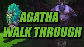 Mage Tower Is Easy Now! (Feral Druid Agatha Guide)