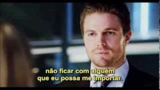 Oliver and Felicity - I think you deserve better than her. - 2x06 - ARROW - Legendado
