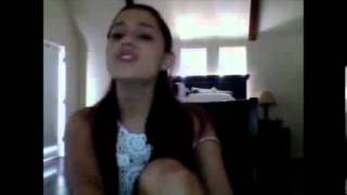 Ariana Grande singing There