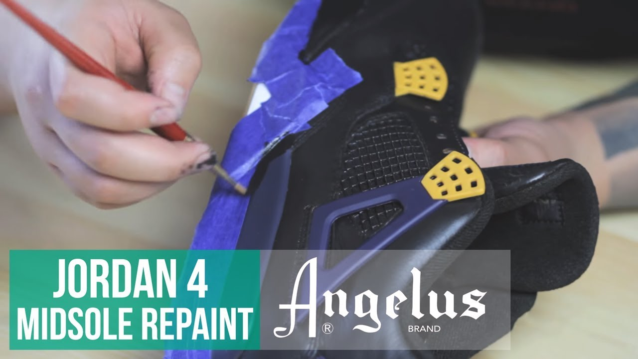How To Paint Midsole and Wings