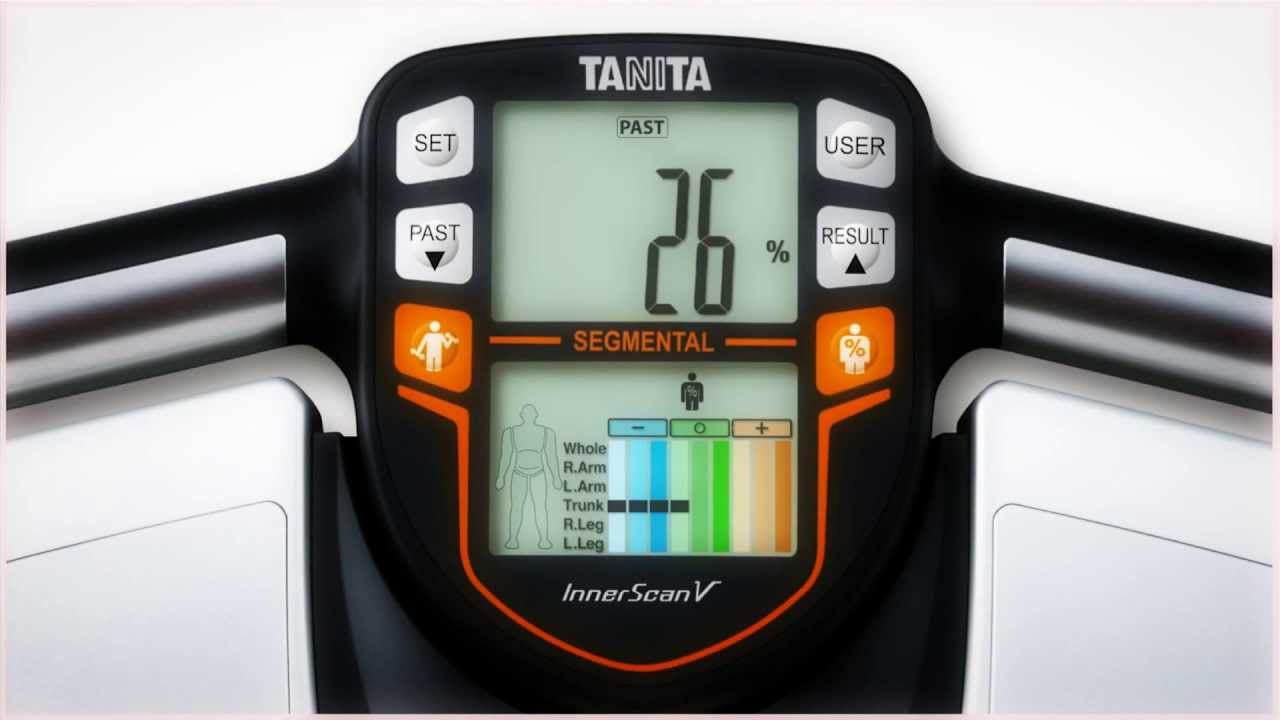 Электронные весы - анализатор организма Tanita BC-571 - YouTube