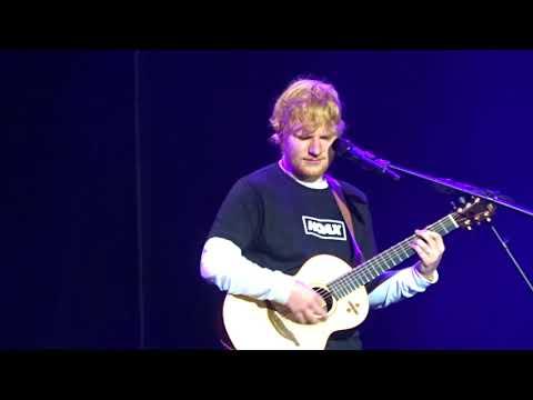 Happier, Ed Sheeran, Seattle, WA, 2018